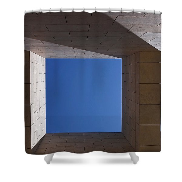 Sky Box At The Getty  Shower Curtain