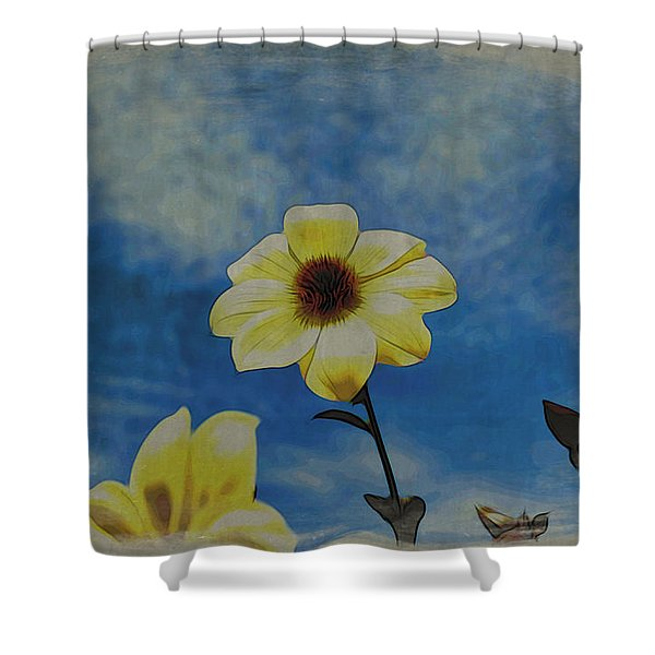 Sky Full Of Sunshine Shower Curtain
