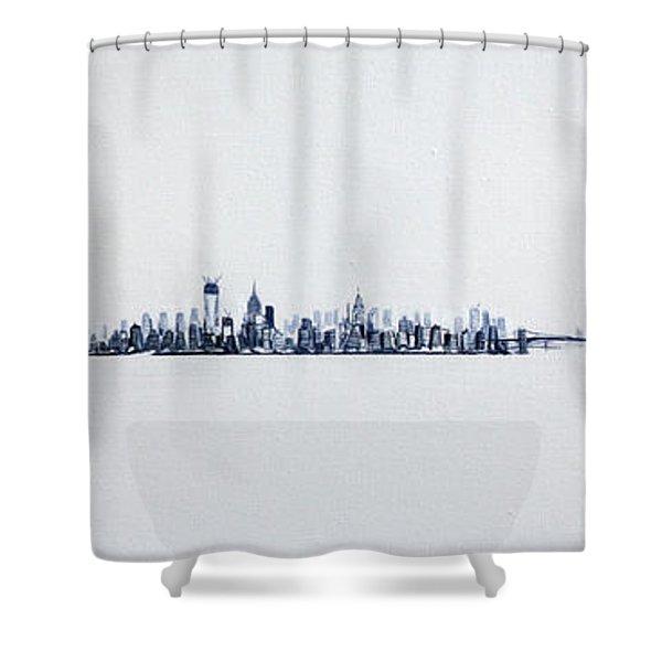 Skyline 10x30-2 Shower Curtain