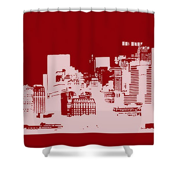 Skyline Number 14 Shower Curtain