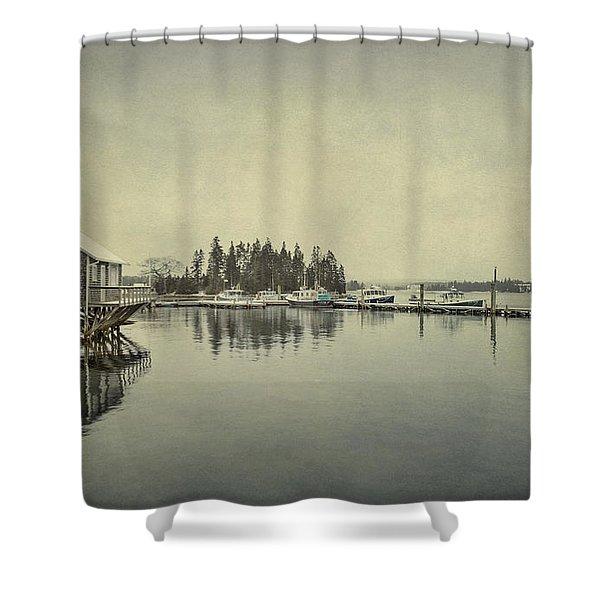 Sleepy Shores Shower Curtain