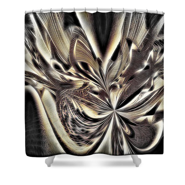 Smash And Grab Shower Curtain