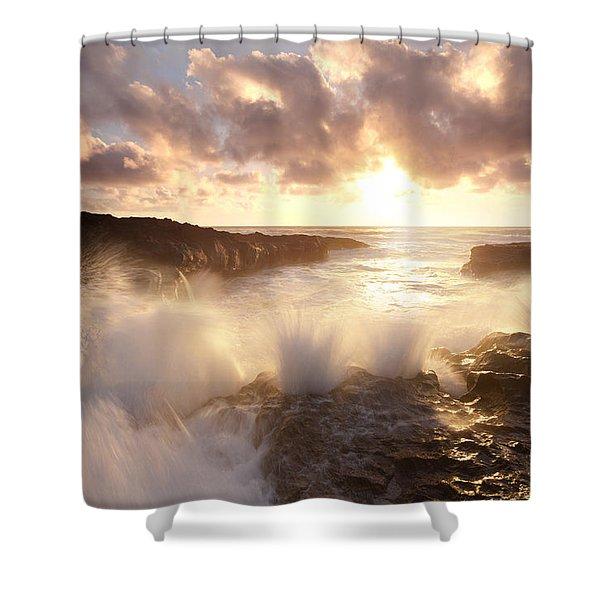 Smashing Sunset Shower Curtain