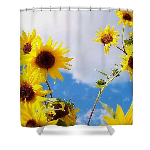 Smile Down On Me Shower Curtain