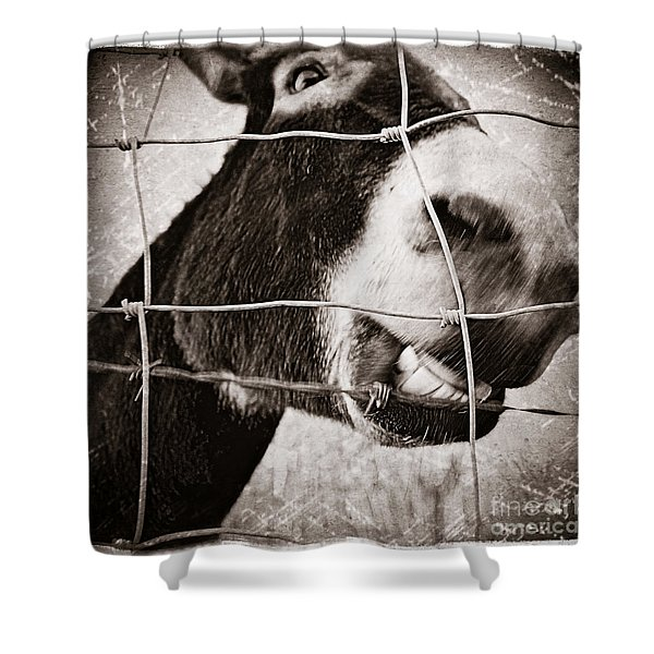 Smile Like You Mean It Shower Curtain