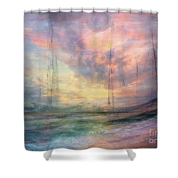 Smooth Sailing Shower Curtain