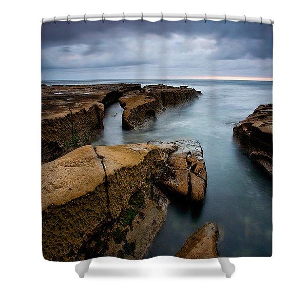 Smooth Seas Shower Curtain