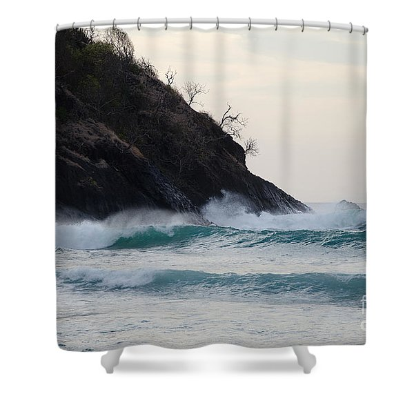 Smugglers Cove Shower Curtain