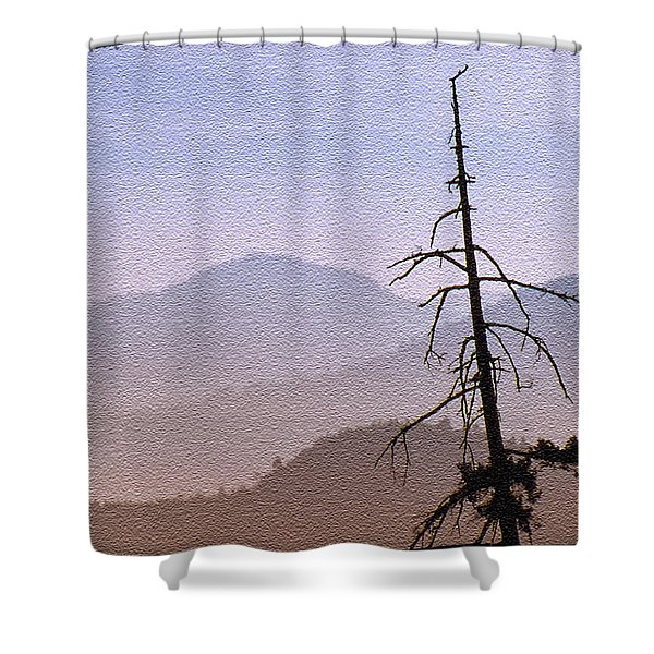 Snag On The Hill Shower Curtain