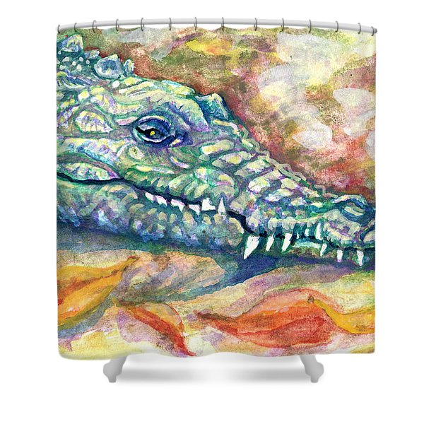 Snaggletooth Shower Curtain