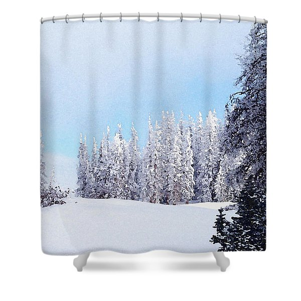 Snowbound Shower Curtain