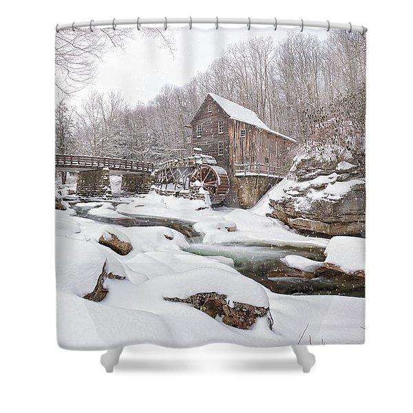 Snowglade Creek Grist Mill 1 Shower Curtain