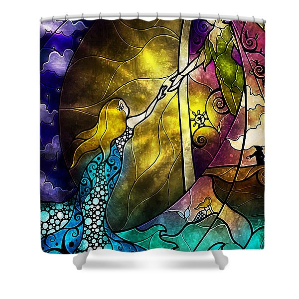 Off To Neverland Shower Curtain