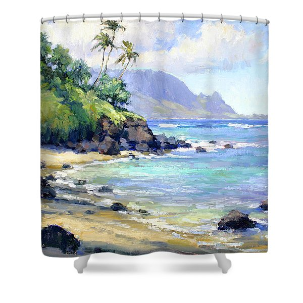 So Many Magic Colors Shower Curtain