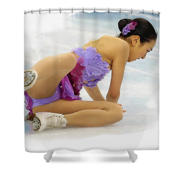 Mao Asada Of Japan Shower Curtain