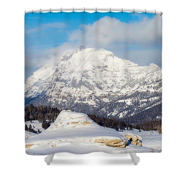 Soda Butte Shower Curtain