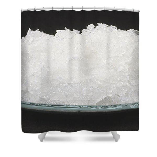 Sodium Carbonate Decahydrate Crystals Shower Curtain