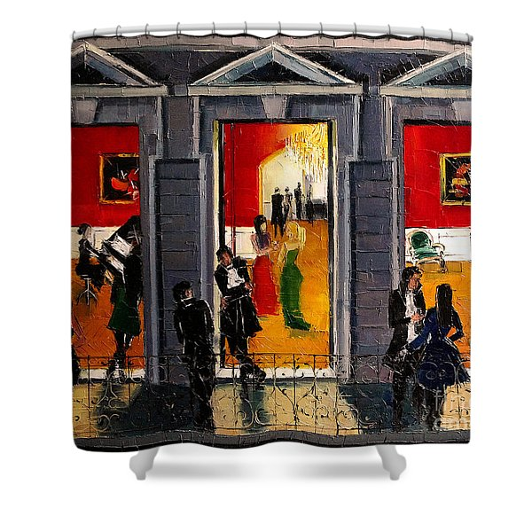 Soiree Parisienne Shower Curtain
