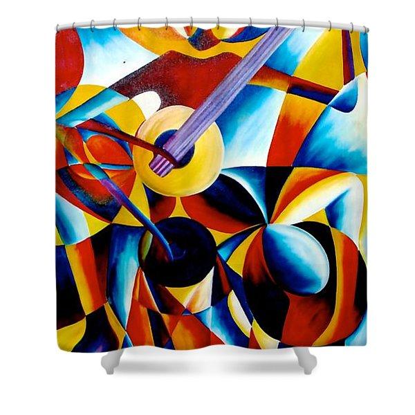 Sole Musician Shower Curtain