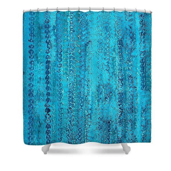 Some Call It Rain Original Painting Shower Curtain