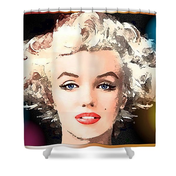 Marilyn - Some Like It Hot Shower Curtain