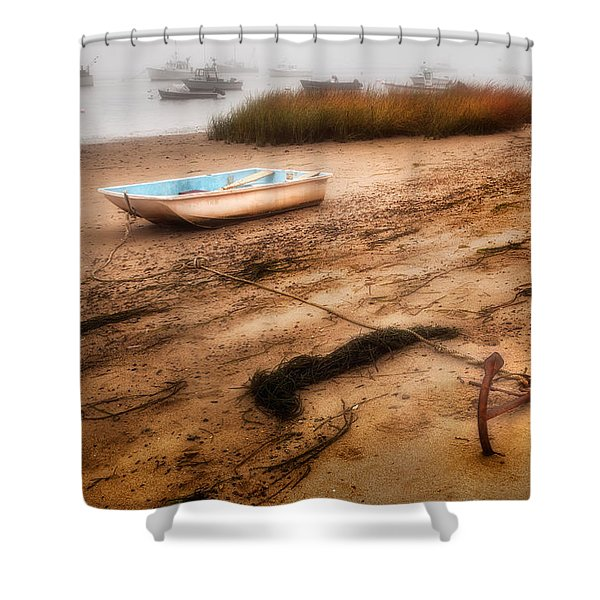 Someday My Ship Will Come In Shower Curtain