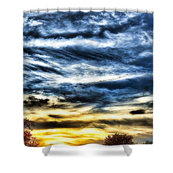 Somewhere On Earth Shower Curtain