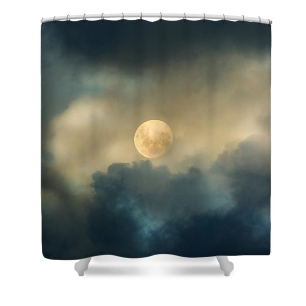 Song To The Moon Shower Curtain