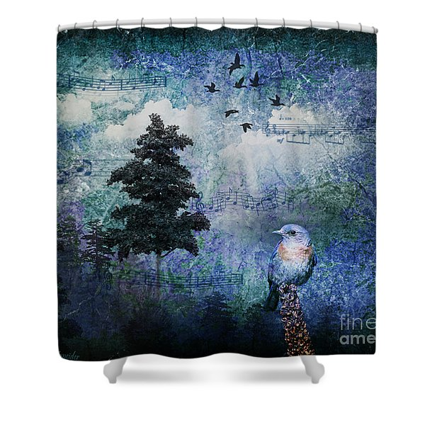 Songbird Shower Curtain