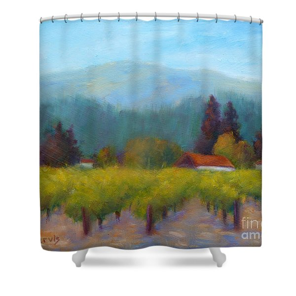 Sonoma Valley View Shower Curtain