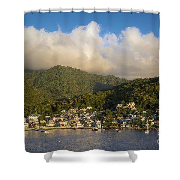 Soufriere - St Lucia Shower Curtain