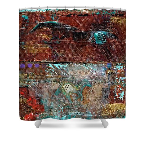 Southwest Horses Shower Curtain