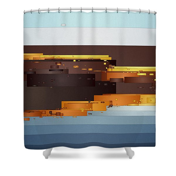 Southwest Sunrise 1 Shower Curtain