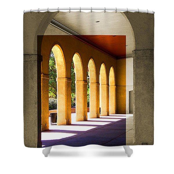 Spanish Arches Shower Curtain