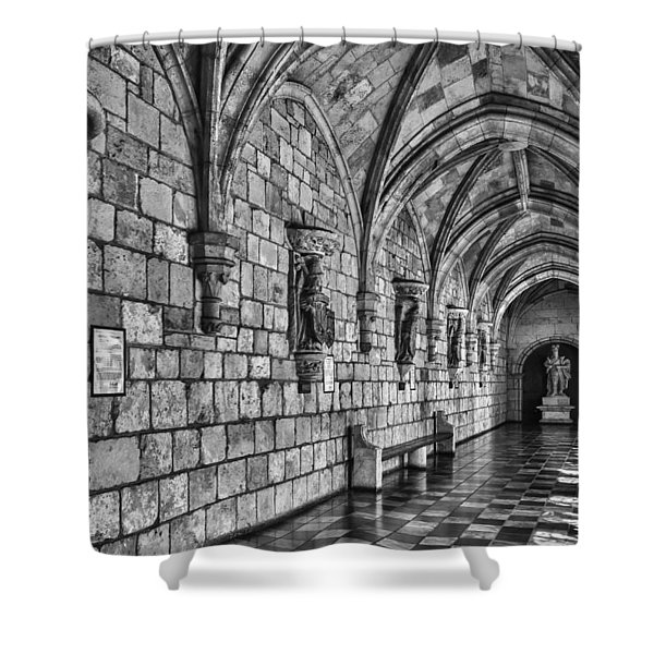 Spanish Monastary Shower Curtain