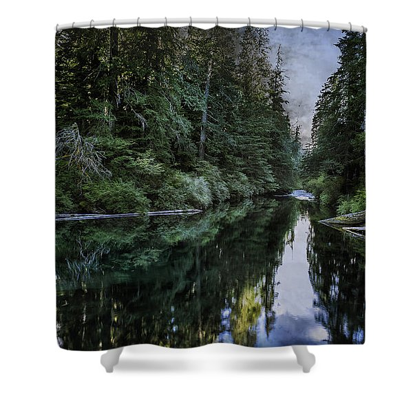 Spawning A River Shower Curtain