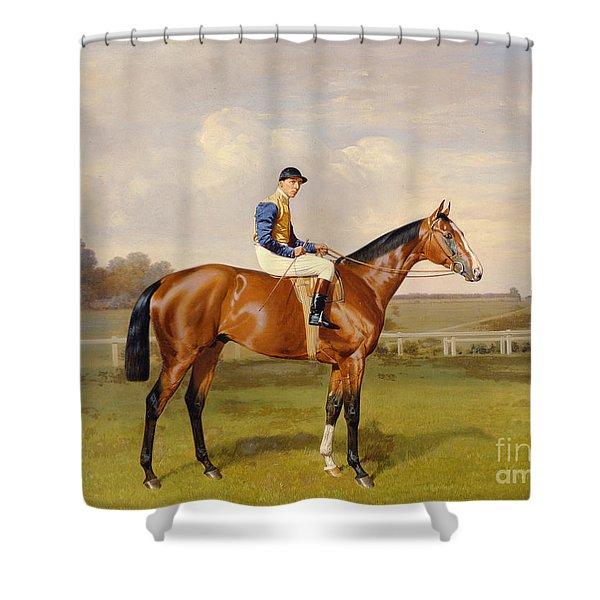 Spearmint Winner Of The 1906 Derby Shower Curtain