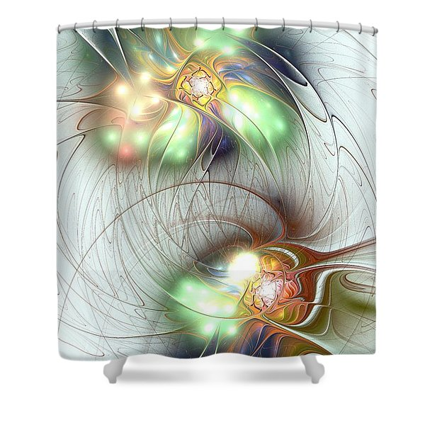 Special Bond Shower Curtain