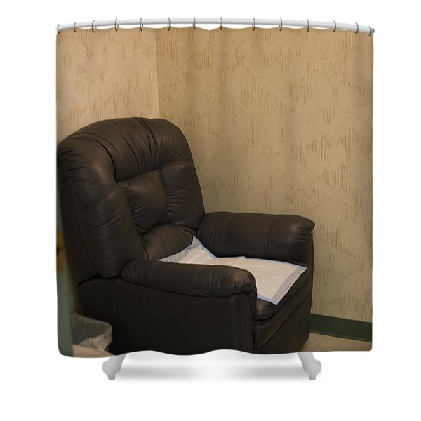 Sperm Collection Room Shower Curtain