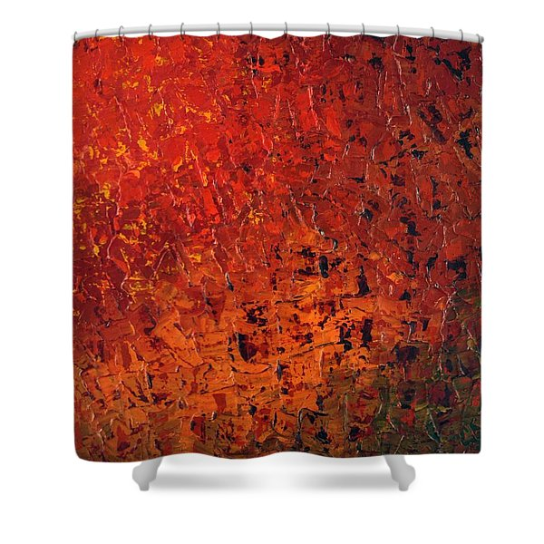 Spicey Shower Curtain