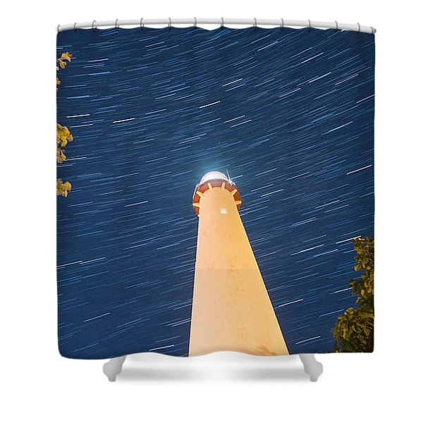 Spin Cycle Shower Curtain