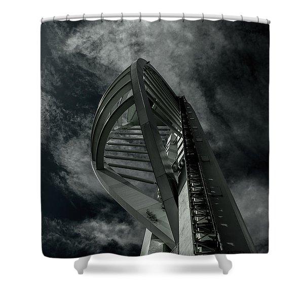 Spinnaker Tower Portsmouth Uk Shower Curtain