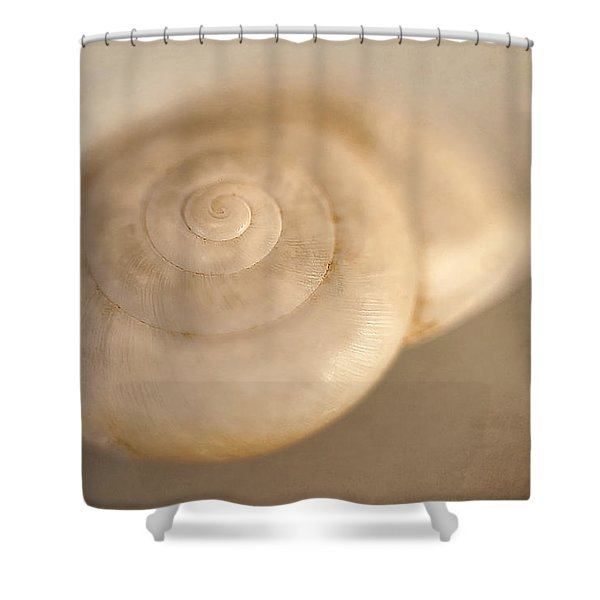 Spiral Shell 2 Shower Curtain