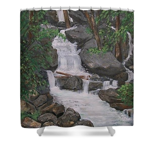 Spirit Falls Shower Curtain