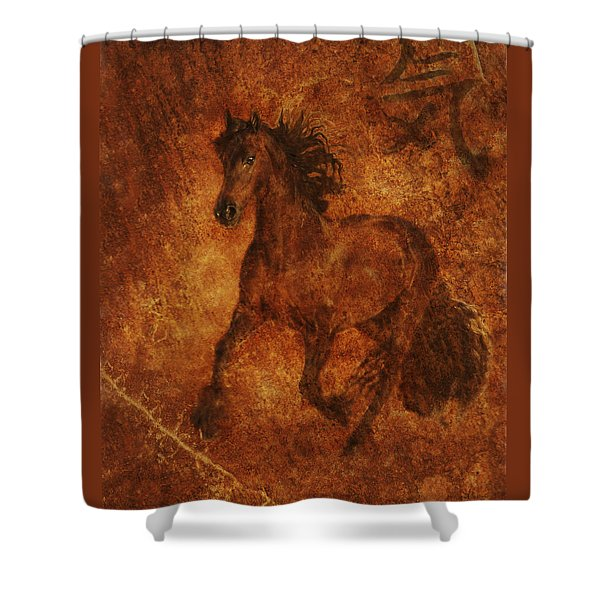 Shower Curtain featuring the photograph Spirit  by Melinda Hughes-Berland