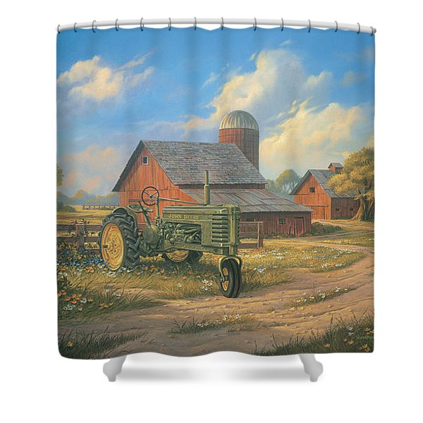 Spirit Of America Shower Curtain