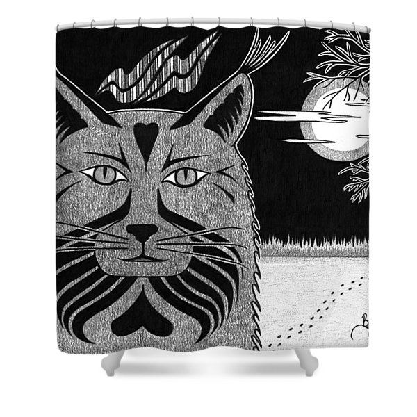 Spirit Of Revelation Shower Curtain