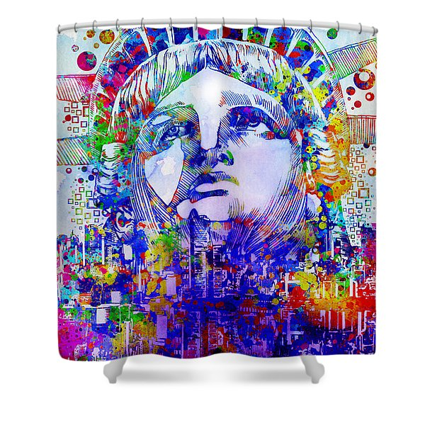 Spirit Of The City 2 Shower Curtain