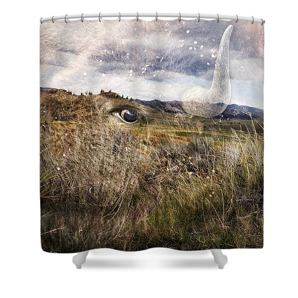Spirit Of The Past Shower Curtain