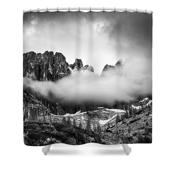 Spirits Of The Mountains Shower Curtain